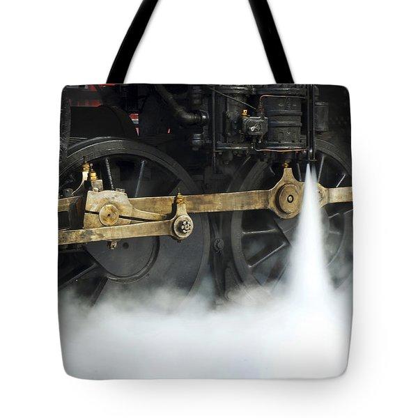 Blowing Of Steam Tote Bag