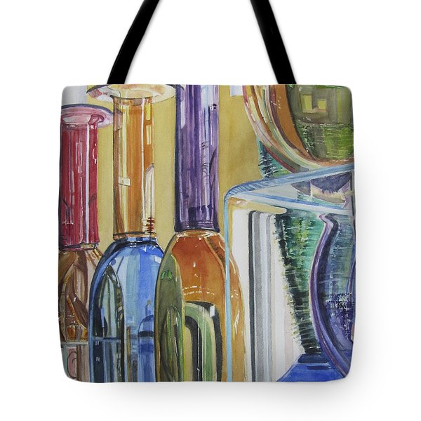 Blown Glass Tote Bag