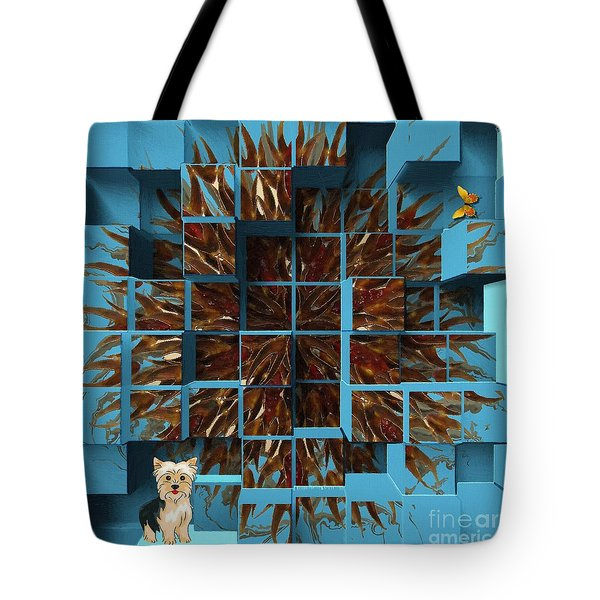 Blowout Tote Bag by Liane Wright