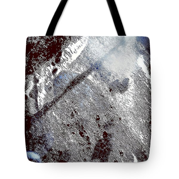 Blu Abstract 2 Tote Bag
