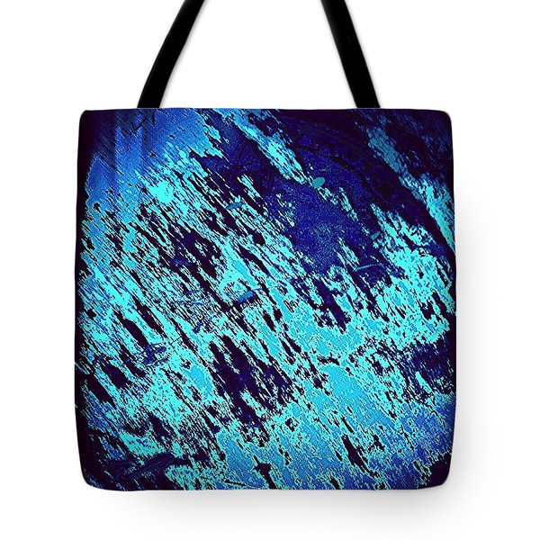 Blu Abstract 3 Tote Bag