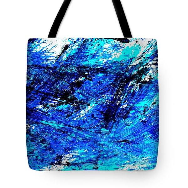 Blu Abstract 4 Tote Bag