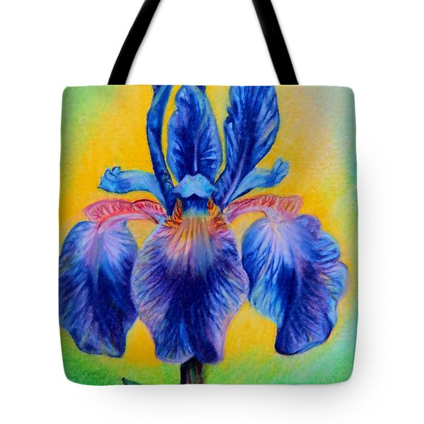 Blue ... Tote Bag by Zina Stromberg