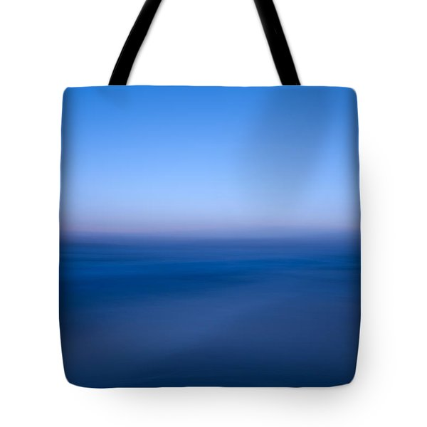 Blue #1 Tote Bag by Catherine Lau