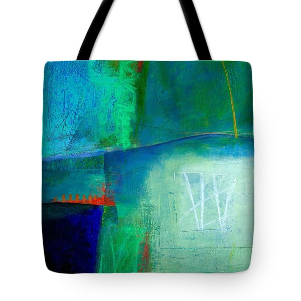Blue #1 Tote Bag by Jane Davies