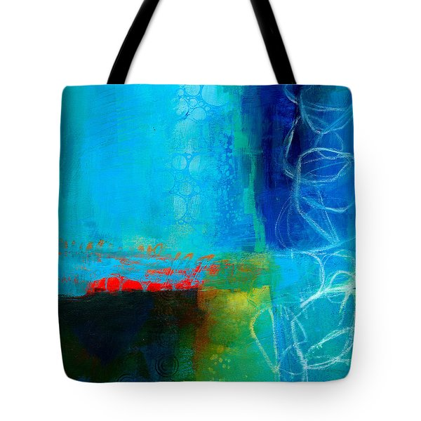 Blue #2 Tote Bag