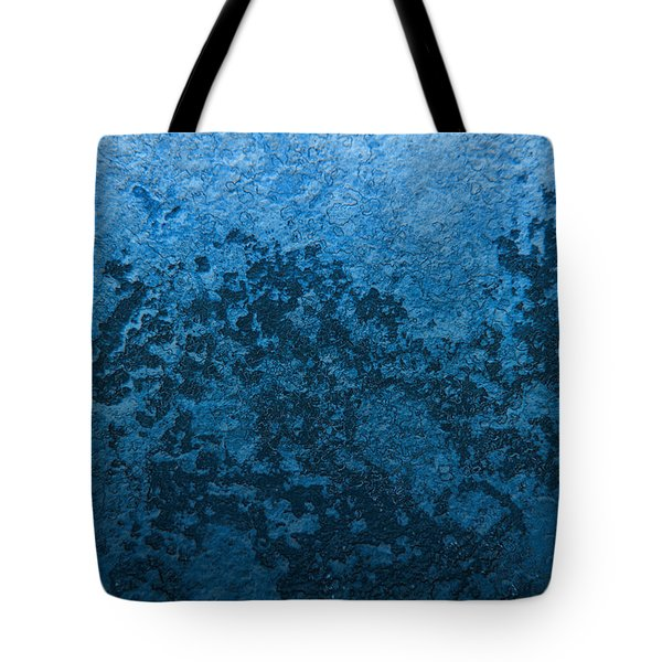 Tote Bag featuring the photograph Blue Abstract No.1 by Rebecca Davis