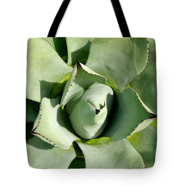 Tote Bag featuring the photograph Blue Agave by Jacqueline Athmann