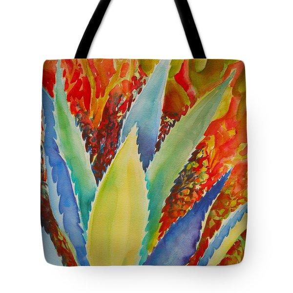Blue Agave Tote Bag by Summer Celeste