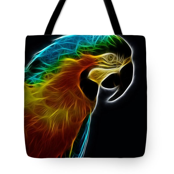 Blue And Gold Macaw Frac Tote Bag