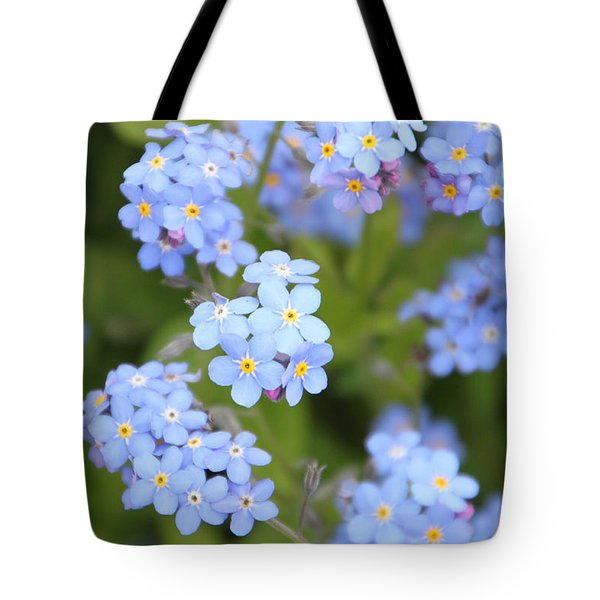 Tote Bag featuring the photograph Blue And Green by Elizabeth Lock