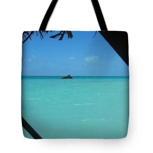 Tote Bag featuring the photograph Blue And Green by Photographic Arts And Design Studio