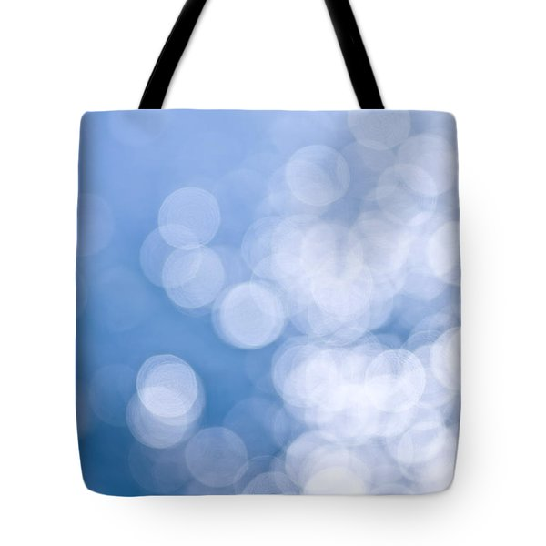 Blue And White  Tote Bag by Elena Elisseeva