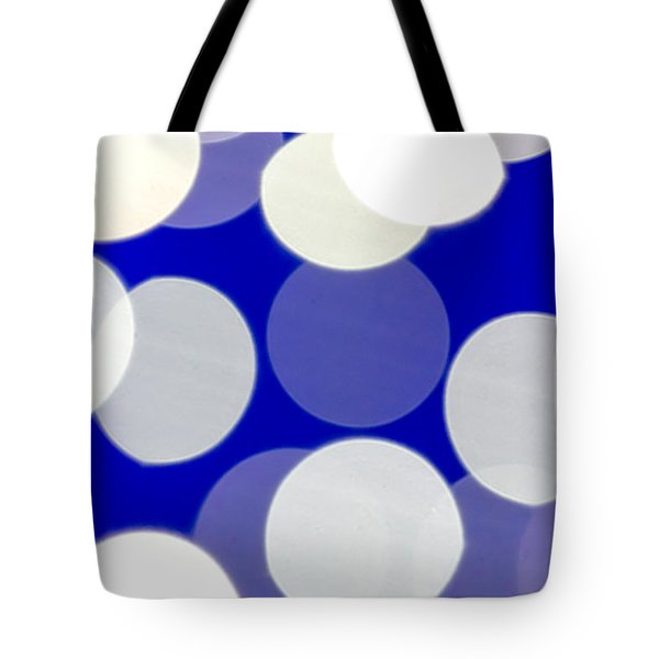 Blue And White Light Tote Bag