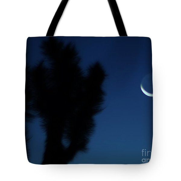 Tote Bag featuring the photograph Blue by Angela J Wright