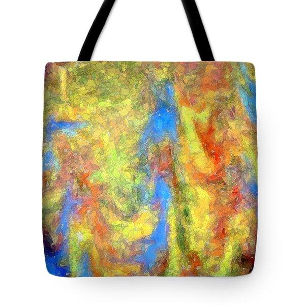 Blue Ascension Tote Bag