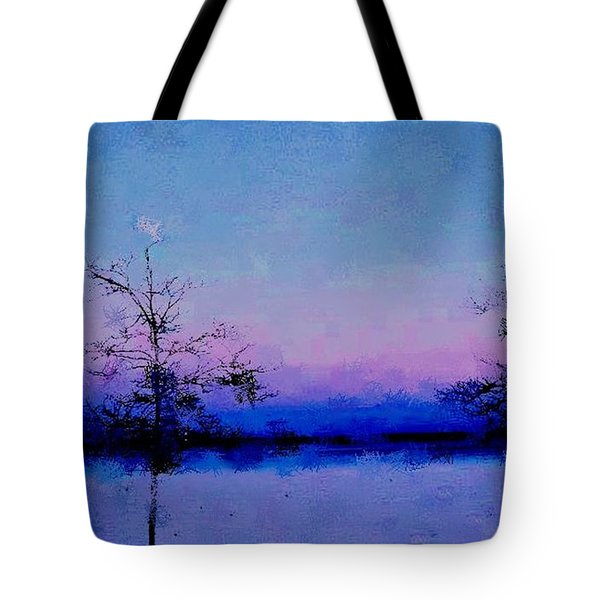 Blue Ballet Tote Bag