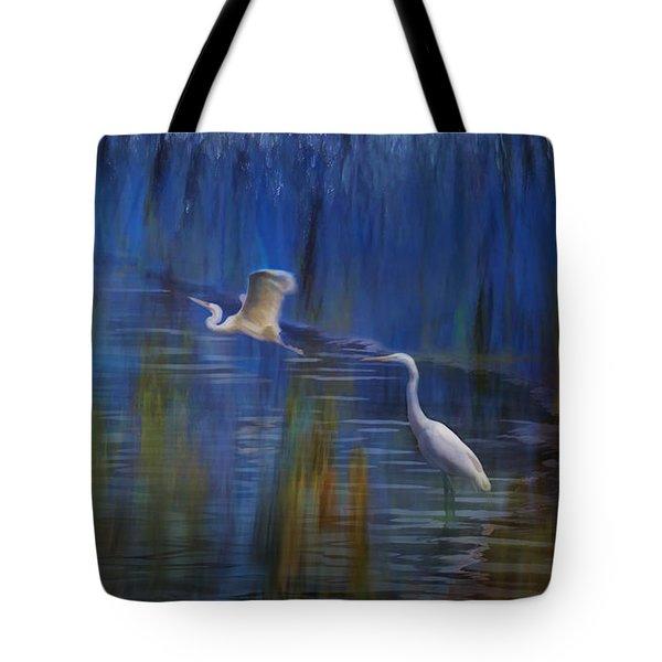 Blue Bayou II Tote Bag