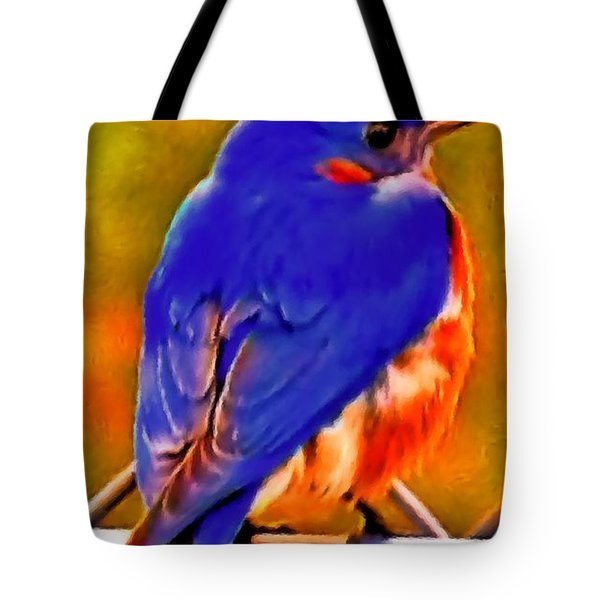 Blue Beauty 2013 Tote Bag