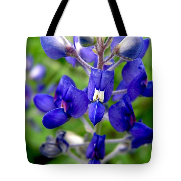 Blue Bonnet Tote Bag by Adam Johnson