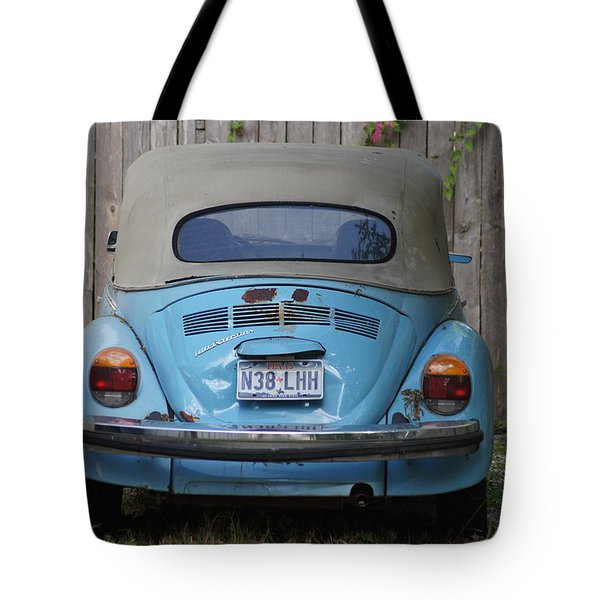 Blue Bug Tote Bag