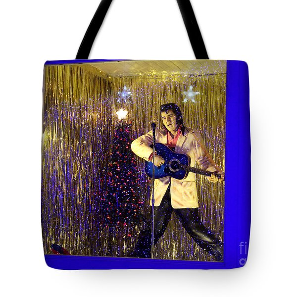 Blue Christmas Without Elvis Tote Bag