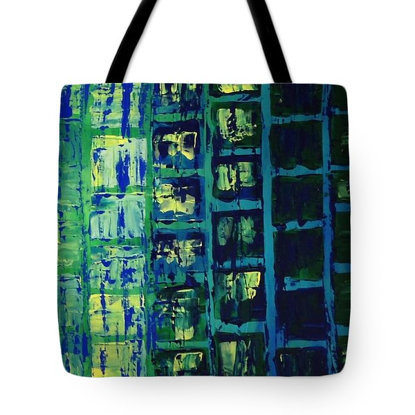 Blue City 2 Tote Bag