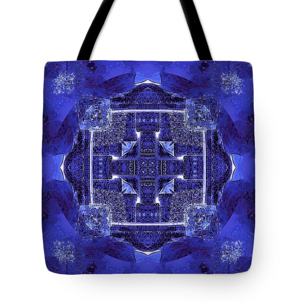 Blue Cross Radiance Tote Bag