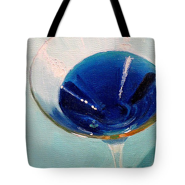 Blue Curacao Tote Bag by Sarah Parks