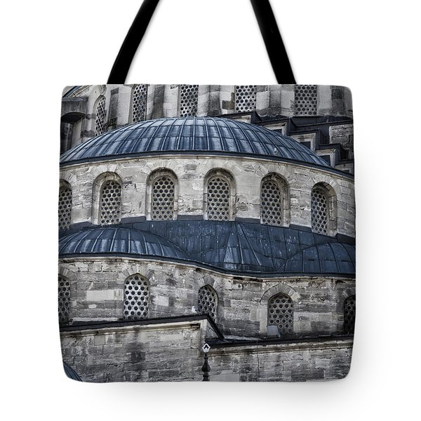 Blue Dawn Blue Mosque Tote Bag