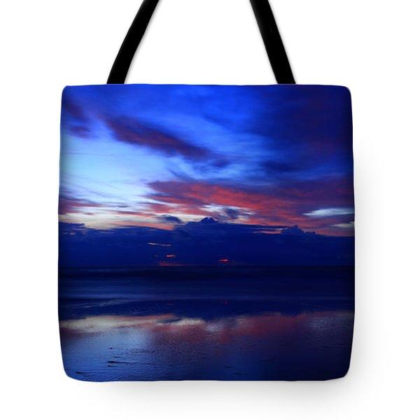 Deep Dawn Ponte Vedra Tote Bag