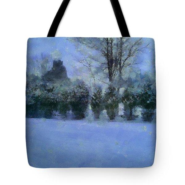 Blue Dawn Tote Bag by RC deWinter