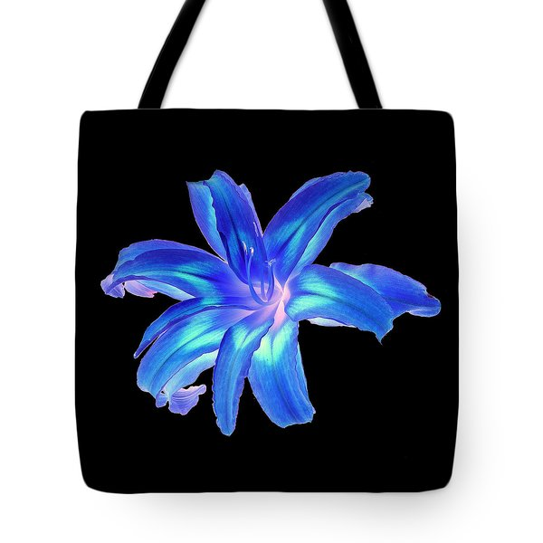 Blue Day Lily #2 Tote Bag