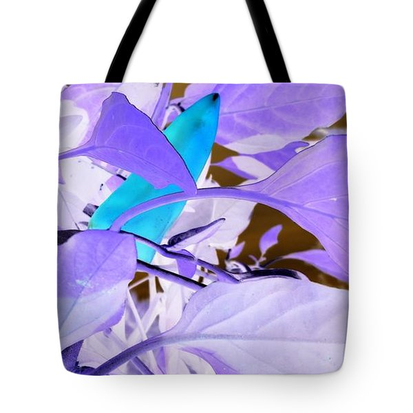 Tote Bag featuring the photograph Blue Delight by Mike Breau
