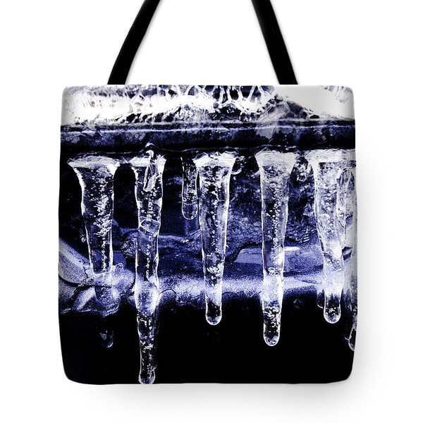 Blue Eycz Tote Bag by Mary Ward