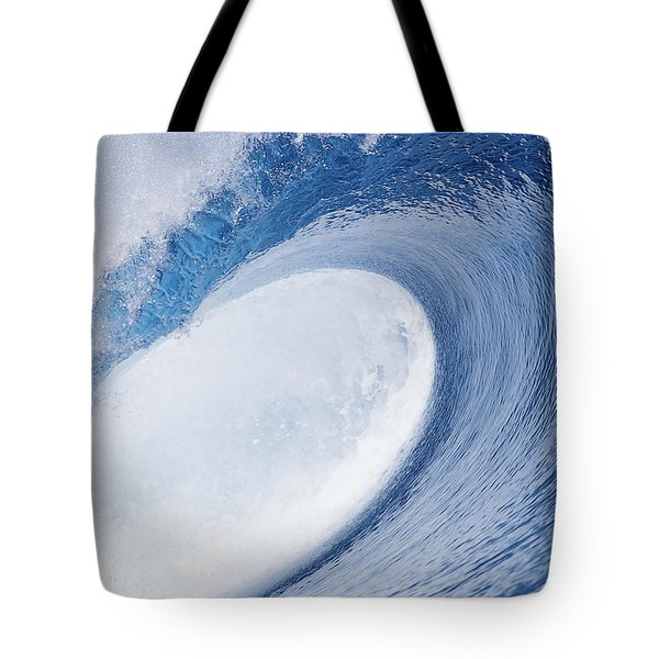 Blue Eye Tote Bag by Sean Davey