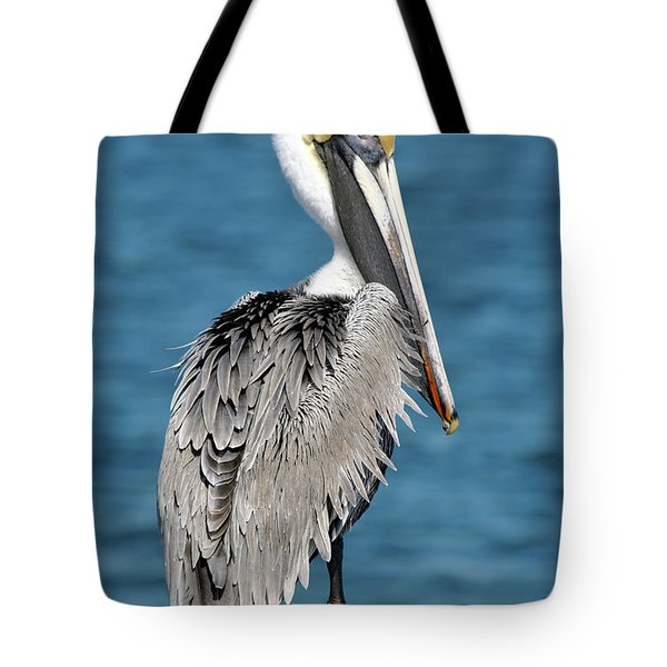 Blue Eyed Blondie Tote Bag