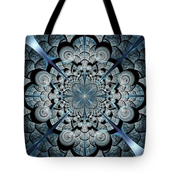 Blue Gates Tote Bag by Anastasiya Malakhova