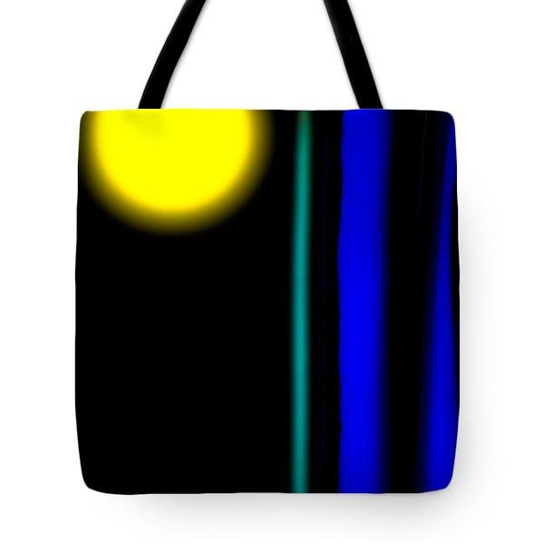 Blue Glass Tote Bag by Bob Orsillo