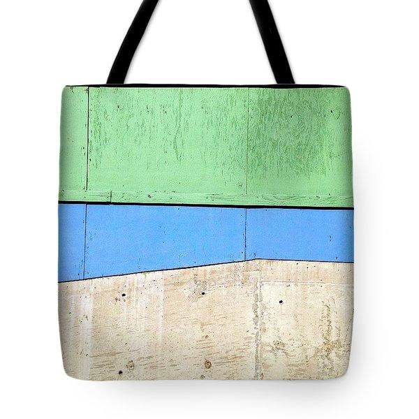 Blue Green Grey Tote Bag