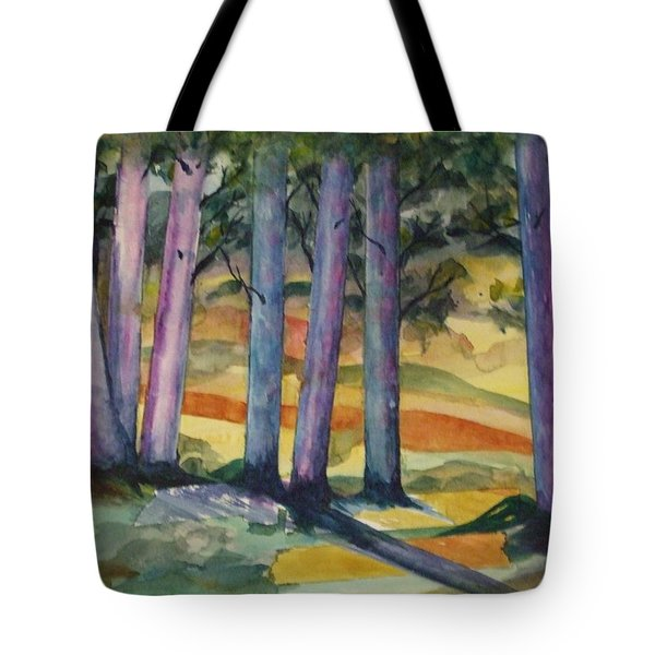 Blue Grove Tote Bag