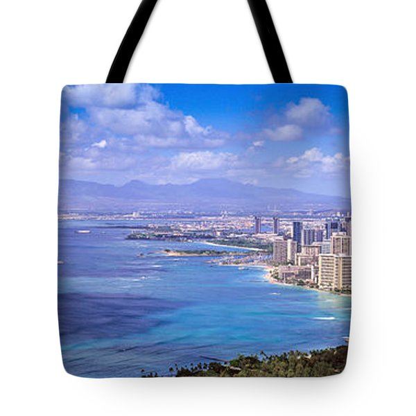 Blue Hawaii Tote Bag by Les Palenik