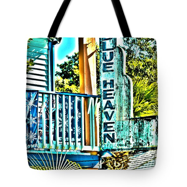 Blue Heaven In Key West - 1 Tote Bag