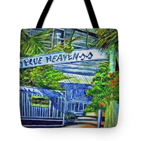 Blue Heaven Key West Tote Bag