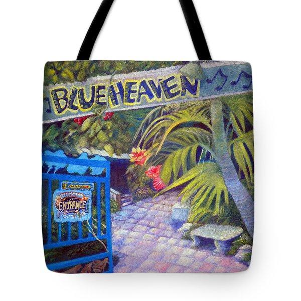 Blue Heaven New View Tote Bag