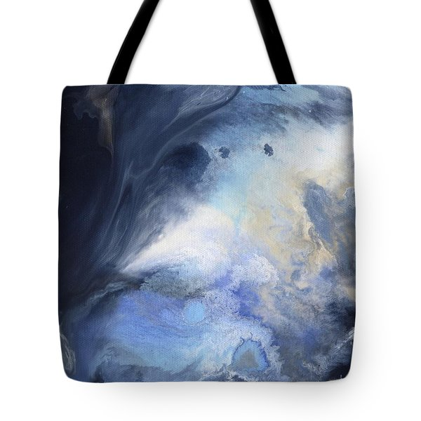 Blue Heavens Tote Bag by Jamie Frier
