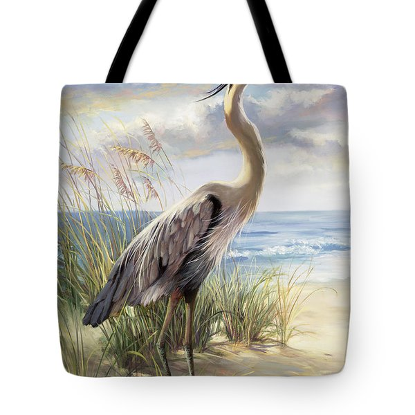 Blue Heron Deux Tote Bag