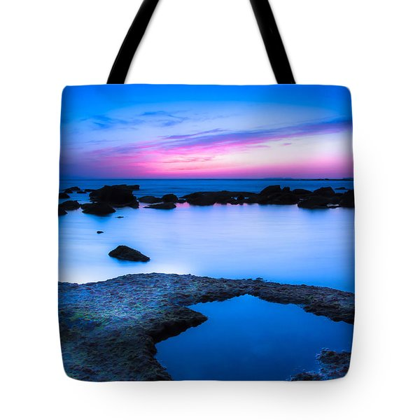Tote Bag featuring the photograph Blue Hour by Edgar Laureano