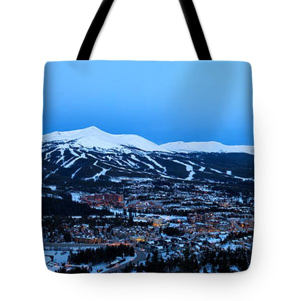 Blue Hour In Breckenridge Tote Bag by Ronda Kimbrow