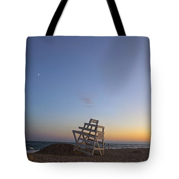 Blue Hour In The Hamptons Tote Bag